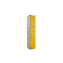 3 Door Full Height Plastic Locker