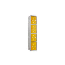 4 Door Full Height Plastic Locker