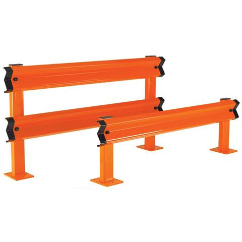 Double Rail Starter Barrier Kit C/W Posts, Fixings And 2 Sigma Rails