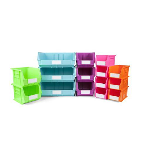 Size 6 Neon Linbins - Pack Of 10