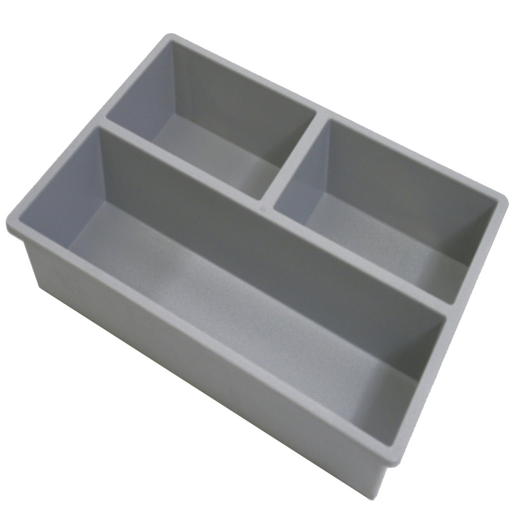Tray Divider 3 Compartments Long