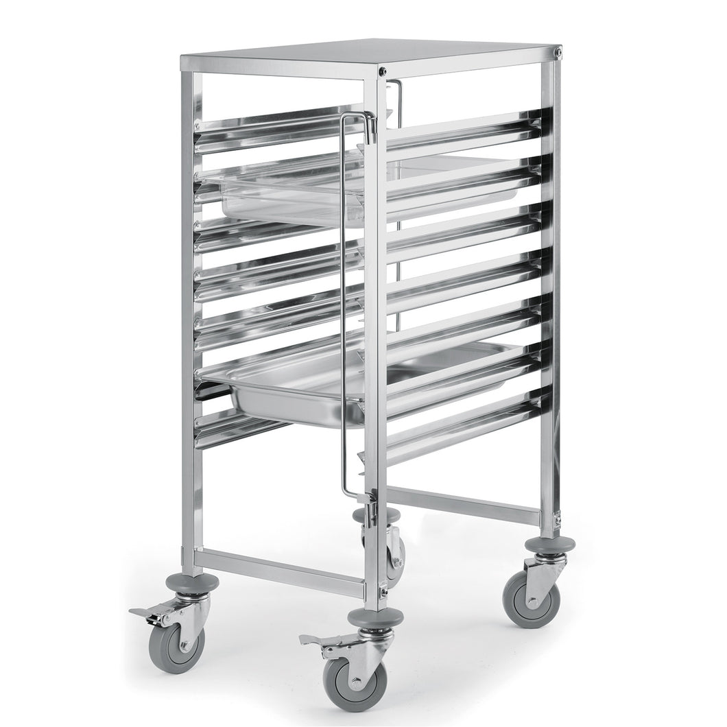 7  Level Gastronorm Racking Trolley