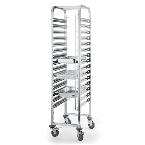 15-30 Level Gastronorm 2/1 Racking Trolley