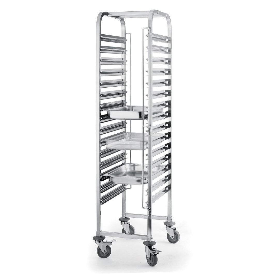 15 Level Gastronorm 2/1 Racking Trolley