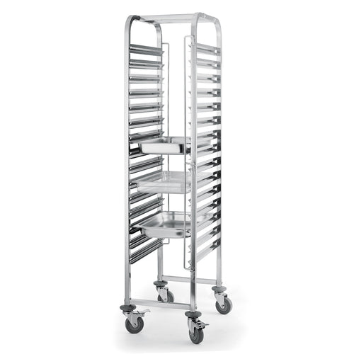 15 Level Gastronorm  Racking Trolley
