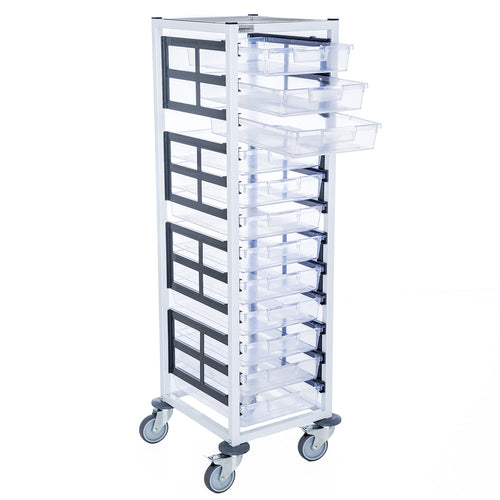 Single Column 12 Level A3 Medical Trolley