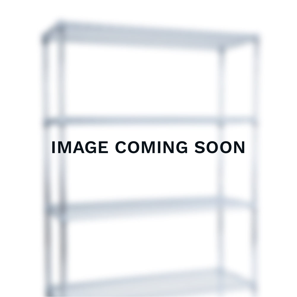 Chrome Wire Clothes Rail - 3 Shelves & 1 Rail