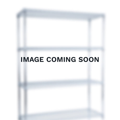 Chrome Wire Clothes Rail - 3 Shelves & 2 Rail