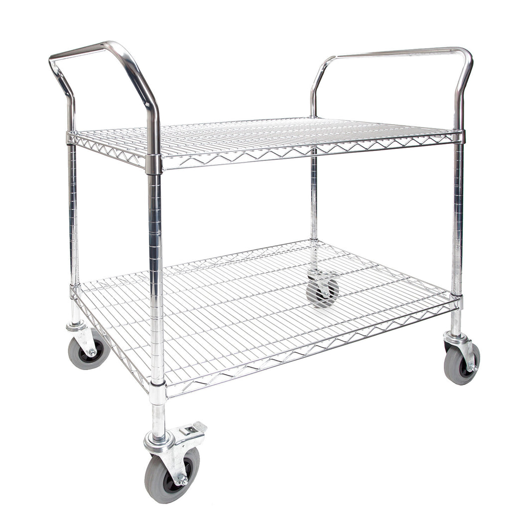 Chrome Wire Cranked Trolley Handle