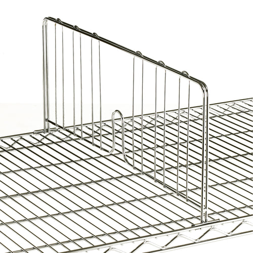 Chrome Wire Shelf Dividers