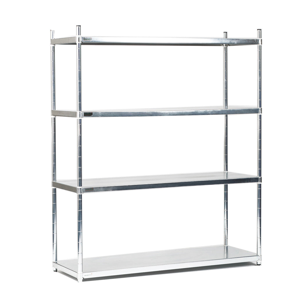 Stainless Steel 304g 4 Tier Solid Unit