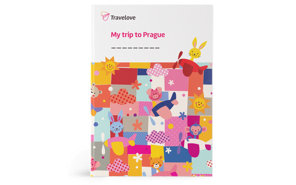 Prague for kids - Kid's Activity Book