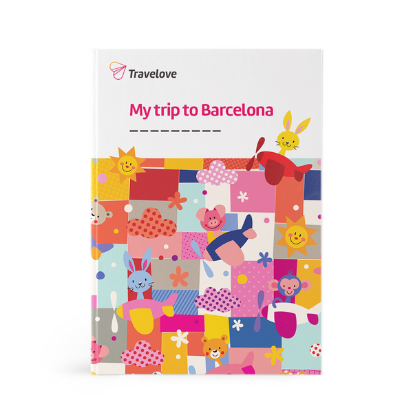 Barcelona Activity Book for Young Kids (4-7 y.o.)