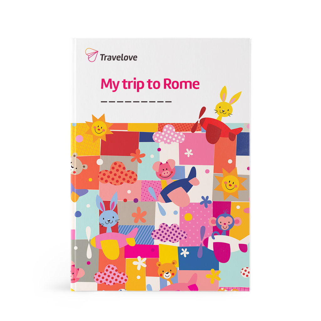 Rome for kids - Activity Book