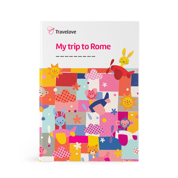 Add-on:  Rome Activity Book + Art & Play Accessories + Backpack