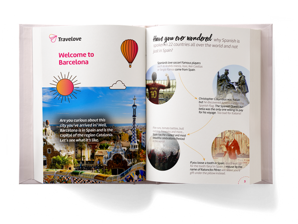 Add-on: Barcelona Activity Book