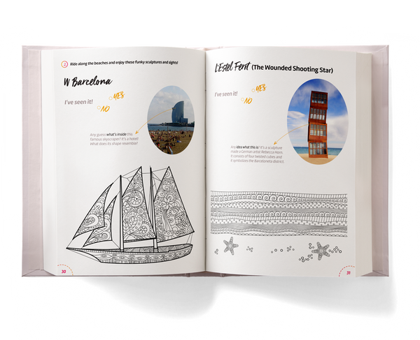 Barcelona Activity Book for Kids preview
