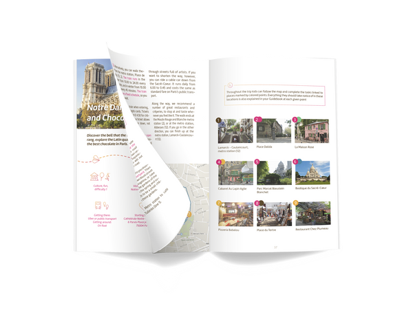 Paris family guidebook preview