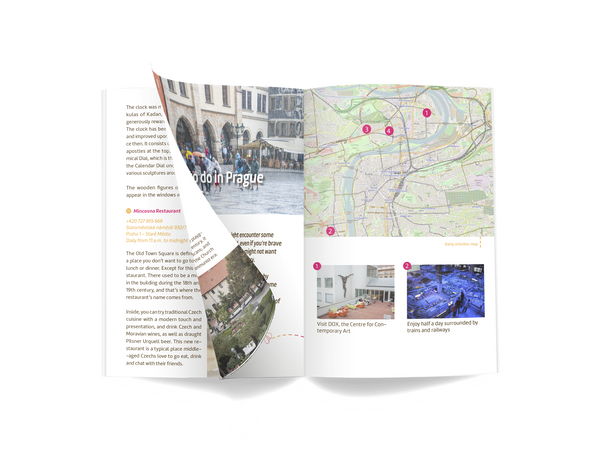 Prague family guidebook preview