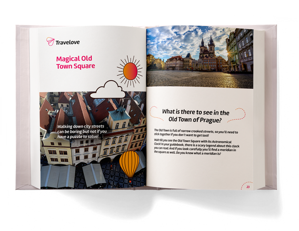 Prague Activity Book for Kids preview