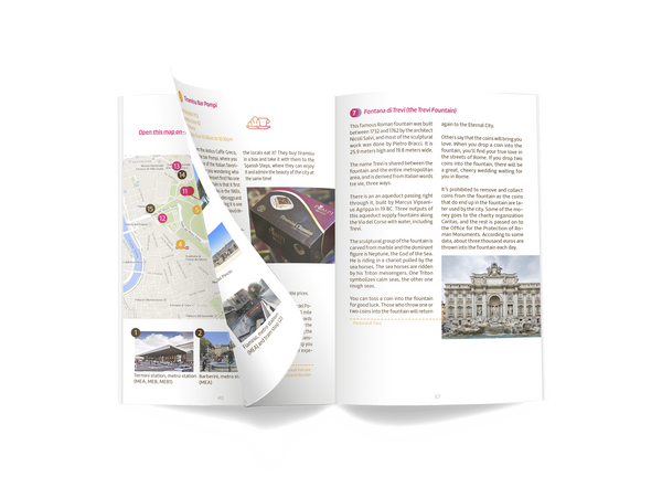 Rome family guidebook preview