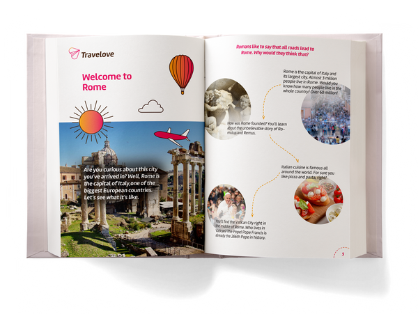 Add-on: Rome Activity Book