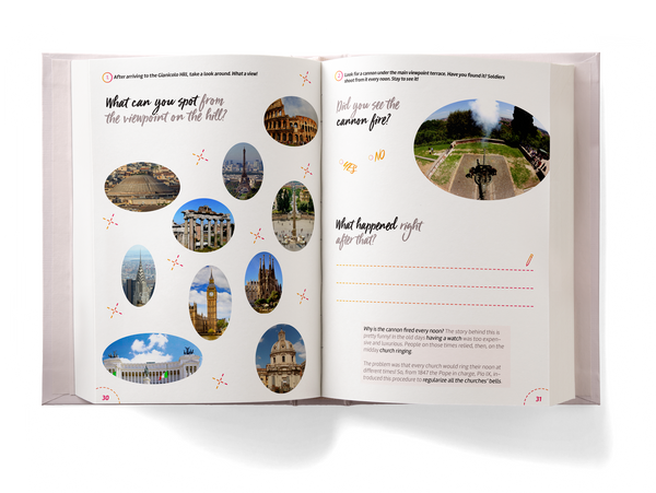 Rome Activity Book for Kids preview