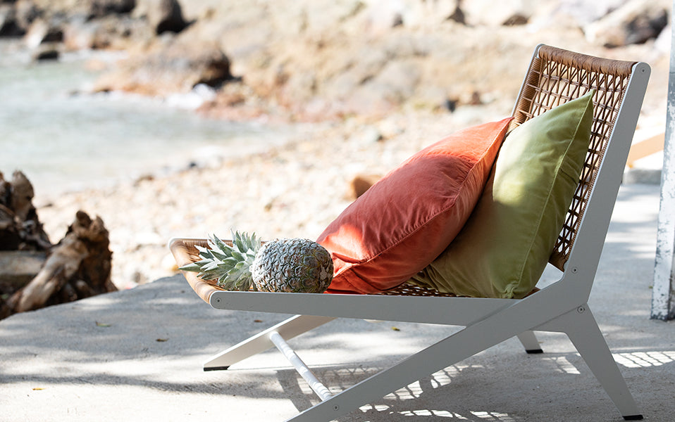 Soak up the Sun with outdoor cushions, seating and lanterns