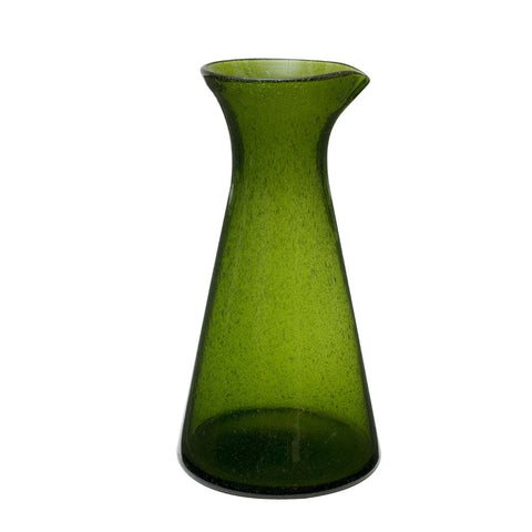 Blown glass carafe