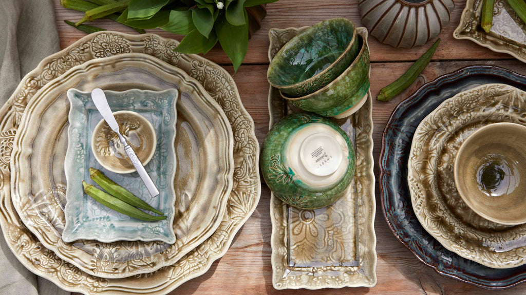 Sthal stoneware plates and dishes