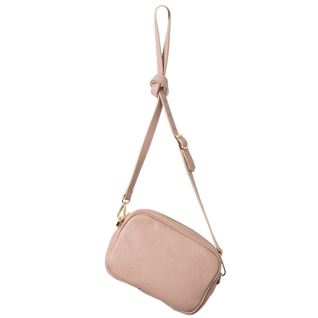 Dixon Leather Handbag Rose