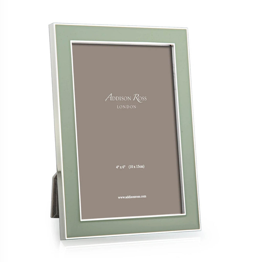 Addison Ross Enamel Frame Sage Green