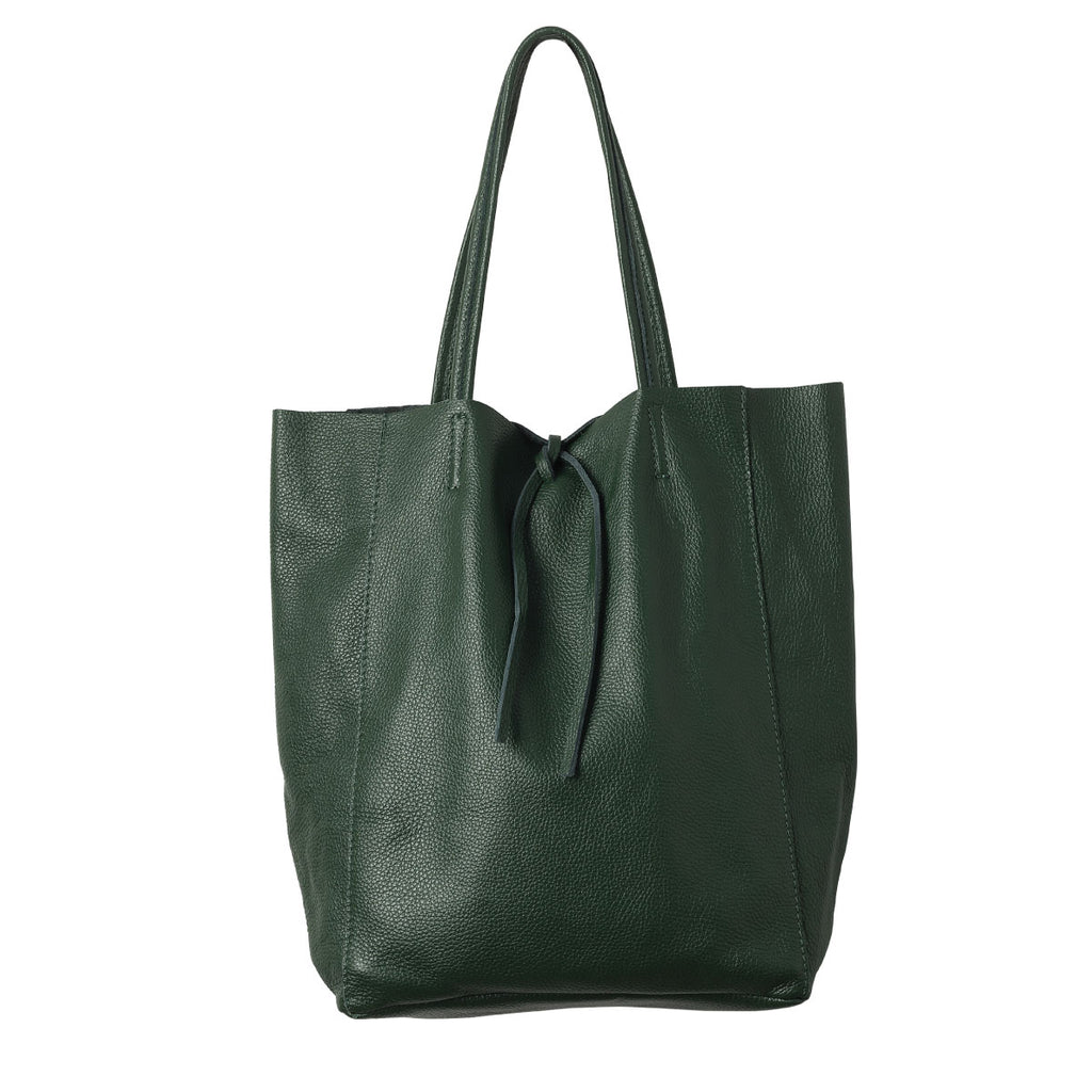 Florence Leather Tote Jungle