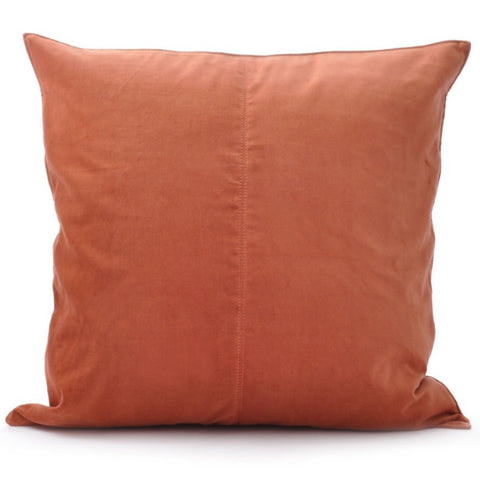 Velvet Base Cushion Persimmon