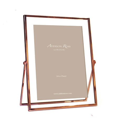 Rose Gold & Glass Frame