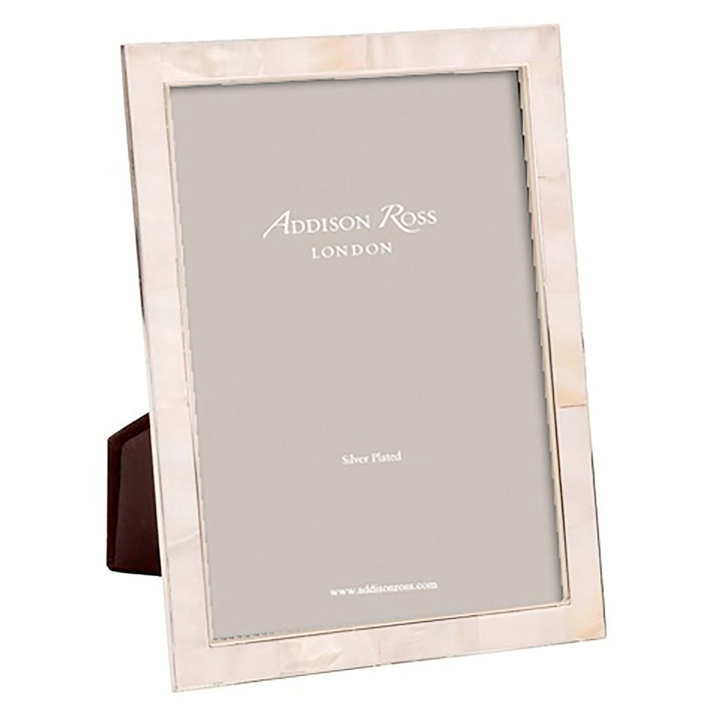 Addison Ross Shell & Silver Frame 4x6""
