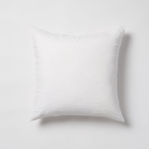 Sove Linen Euro Pillowcase Ecru Pair
