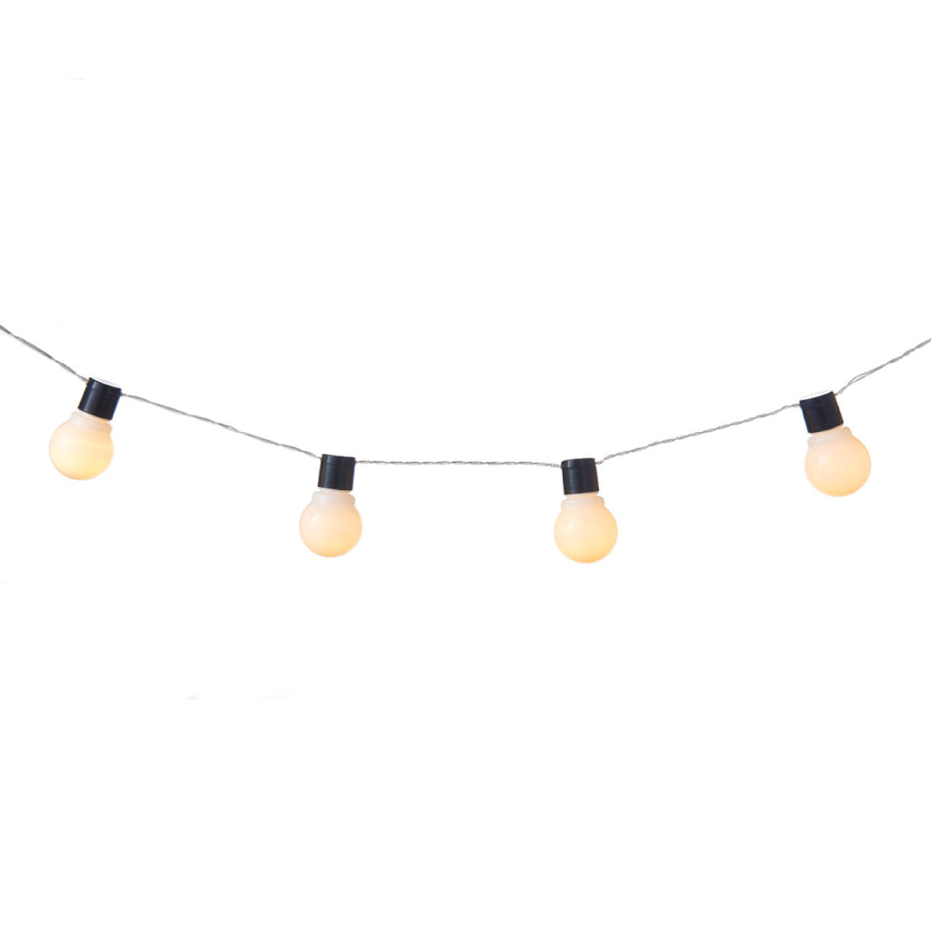 White Night 20 Bulb Garland White