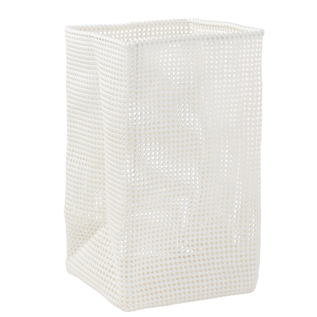 Plastic Weave Laundry Basket White - Citta Design, INSIDE Hong Kong