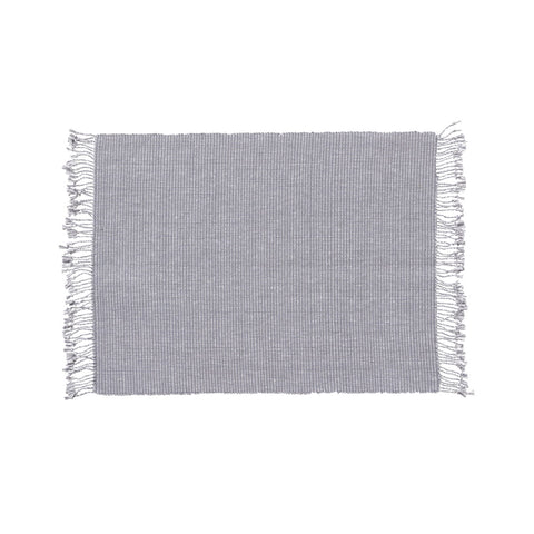 Stitch Woven Placemat S/4 in Dolphin