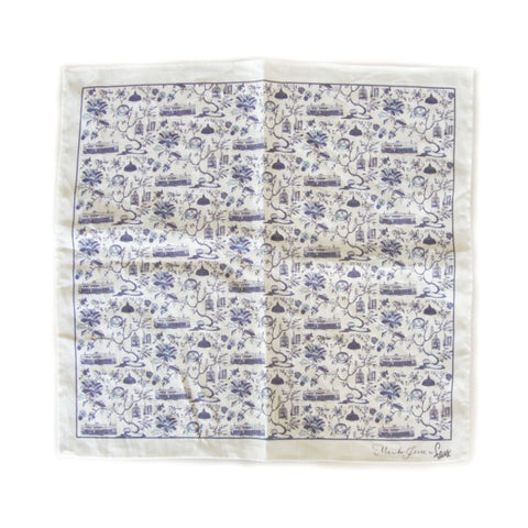Hong Kong Toile Series Napkin Blue
