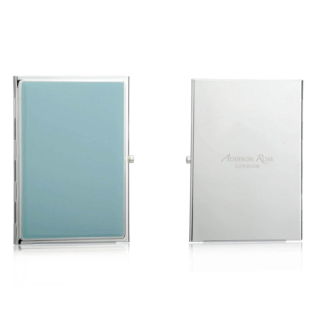 Addison Ross Travel Double Frame Silver plated - Blue - Addison Ross, INSIDE Hong Kong