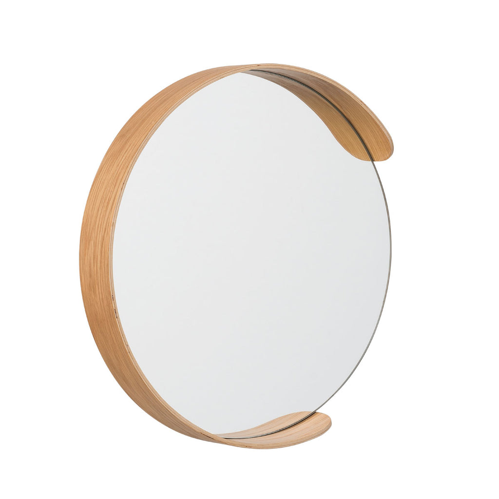 Segment Mirror Natural Oak - Citta Design, INSIDE Hong Kong