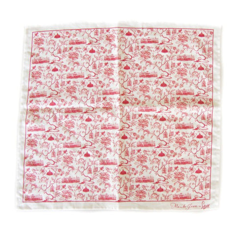 Hong Kong Toile Series Napkin Red
