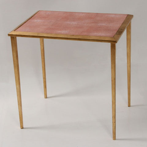 Serena Side Table in coral