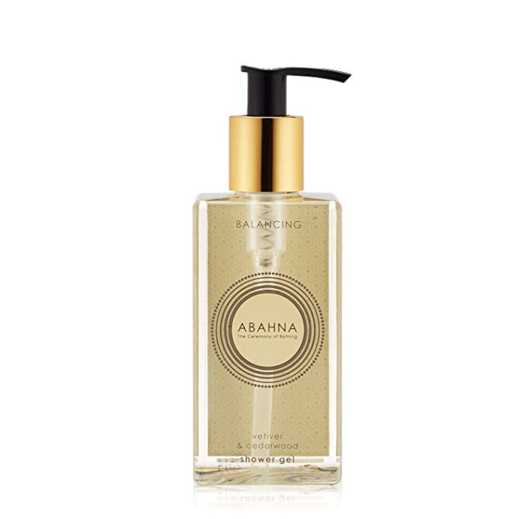 Vetiver & Cedarwood Shower Gel - Abahna, INSIDE Hong Kong
