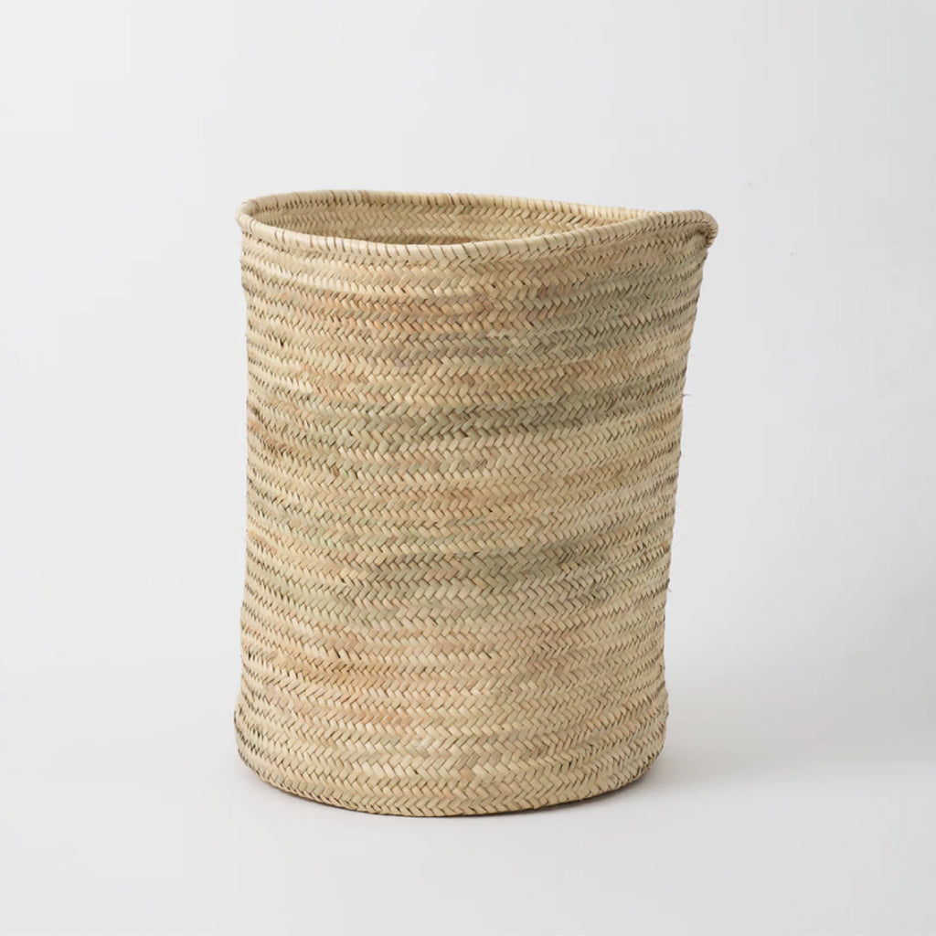 Moroccan High Storage Basket Natural