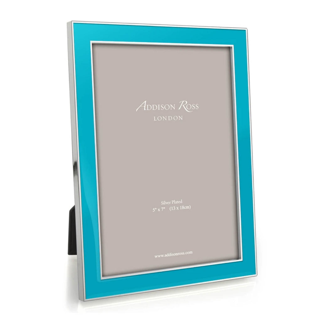 Addison Ross Enamel  Frame Blue