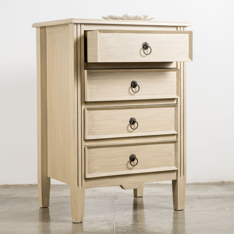 Brighton Chest of Drawers in Linen Antique 53 x 38 x 76(h) cm