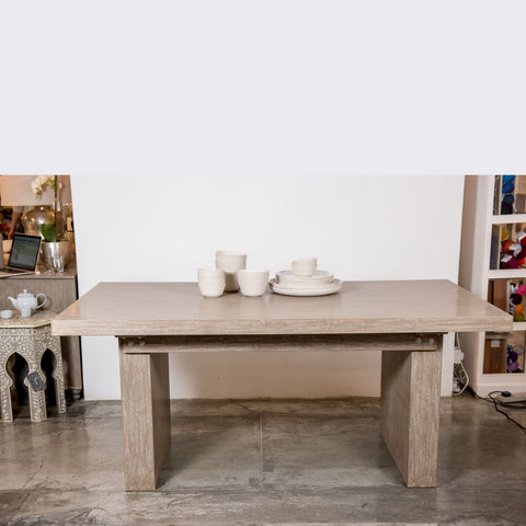Delabole Dining table in Nature